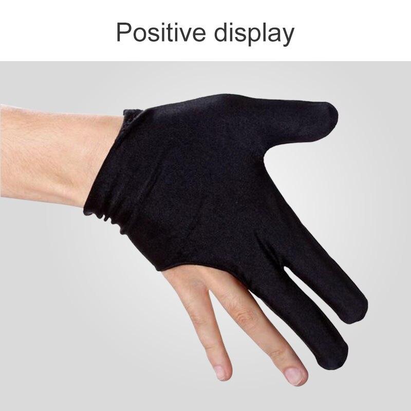 Billiard Gloves 3-Finger Glove Left Hand Protection Finger Protection Yo-Yo Gloves Safeguard Original Disign High Quality