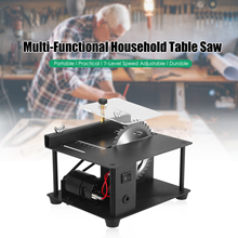 Saw-Cutter Table-Saw Electric-Cutting-Machine Cutting-Depth Multi-Functional Wood Plastic