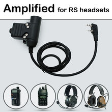 Replacement U94 PTT AMPLIFIED version Audio Part for REAL STEAL RS headset