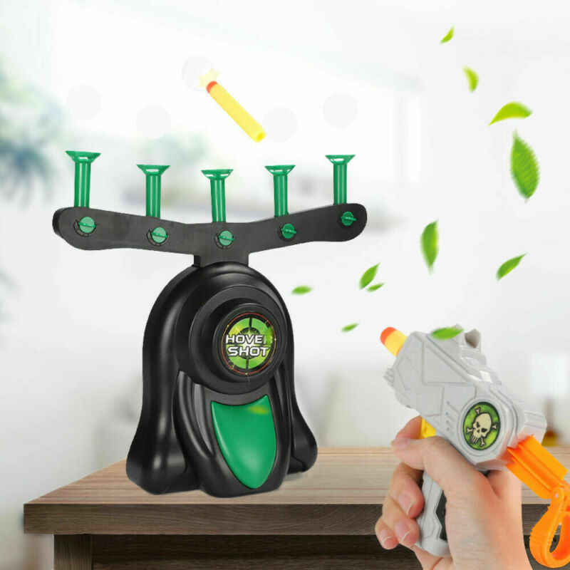 Hover Shot 2 0 Game Funny Floating Target Shooting Game Foam Dart Blaster Shooting Ball Toy Kid Gift Glow In The Dark Targets Party Favors Aliexpress