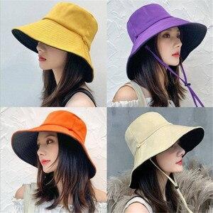 Новинка 2019, модная шапка для рыбаков, Женская Солнцезащитная шапка для путешествий, двухсторонняя Солнцезащитная шляпа для улицы