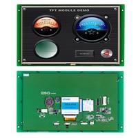 """10.1 """"moduł tft lcd STI101WT 01 z panelem dotykowym + płyta kontrolera + oprogramowanie obsługuje każdy mikrokontroler Moduły LCD Części elektroniczne i zaopatrzenie -"""