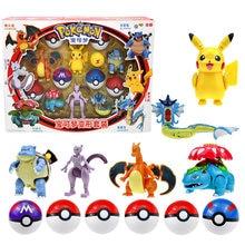 Takara Tomy – figurines Pokemon, jouets de transformation, écureuil Mewtwo Pikachu, poupées modèles d'action, cadeaux pour enfants