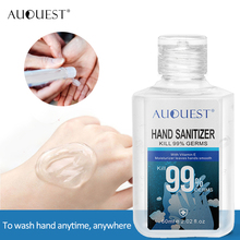AuQuest Anti-bacterial Hand Wash Disposable Hand Gel Sanitizer Germ-free Disinfection Hand Sanitizer Gel Hand Cleanser 60ml