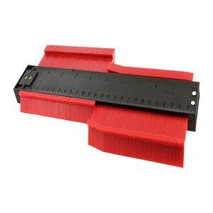 Image 5 - ASCEBDAS 10 Inch/250mm Contour Profile Gauge Tiling Laminate Tiles Edge Shaping Wood Measure Ruler