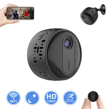 Mini indoor 1080P small button battery Power  Audio pick up function with speaker 2.0MP surveillance battery camera