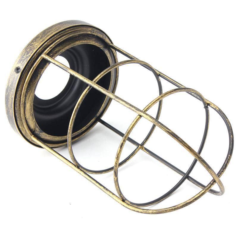 Винтажная Люстра для прихожей, железный подвесной светильник, светодиодный светильник для жилых помещений, кухонная люстра - 4