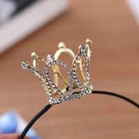 Tiara de boda con diseños de corona, diadema de diamantes de imitación de cristal, accesorios de joyería nupcial para mujer