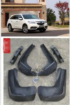 Molded Car Mud Flaps For Acura MDX 2014 2015 2016 Mudflaps Splash Guards Mud Flap Mudguards Fender Front Rear Styling molded car mud flaps for toyota corolla altis 2014 2015 2016 2017 mudflaps splash guards mud flap front rear mudguards fender