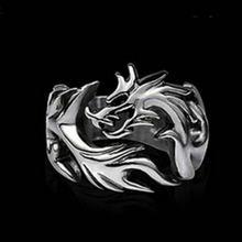 Мужское кольцо в форме дракона стиле панк tredy2020 новая мода