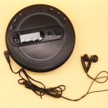 Портативный CD-плеер для аудио CD/CD-R с fm-радио защита от ударов/Skip Free/ESP Bass Boost system наушники