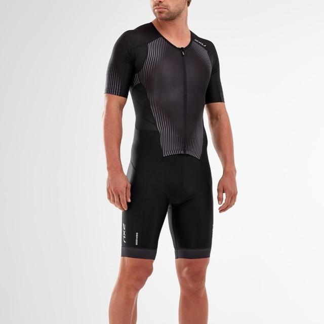 2020 amo A Dor Speedsuit Speedsuit Trisuit Triathlon Dos Homens Ciclismo Skinsuit Manga Curta Maillot ciclismo Roupas de Corrida #01 1