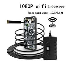 8LED 1080P IP67 автомобильный wifi эндоскоп бороскоп зарядка портативный промышленный водонепроницаемый автомобильные аксессуары 3,5 м 5 м 10 М Универсальный
