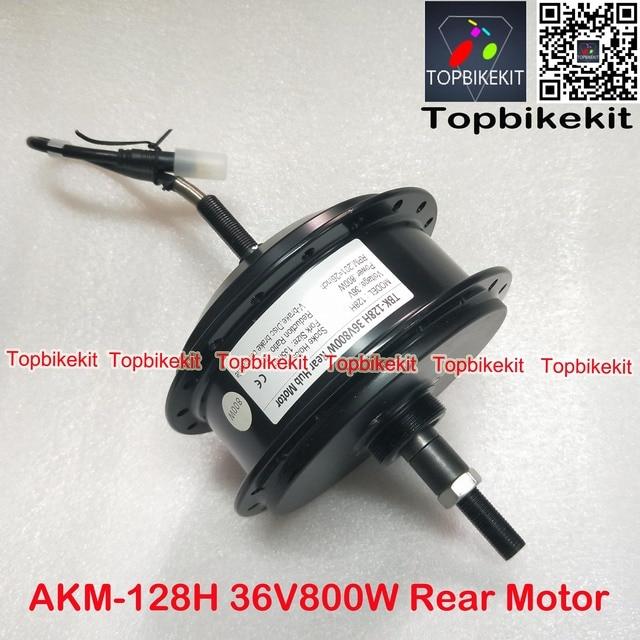 Q128H 36V 800W/48V800W Rear Hub Motor Fork Size 135mm for Ebike RPM 201 AKM 128H 36V /48V 800W motor for ebike motor