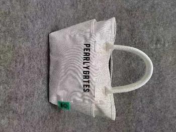 Zupełnie nowe perłowe bramy PG89 torba golfowa perłowe bramy golfowa torba na ubrania białe perłowe bramy golfowa torebka EMS wysyłka tanie i dobre opinie TOPRATED CN (pochodzenie) Mikrofibra Golf odzież torba Pearly Gates