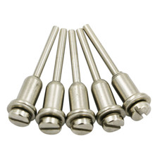 ELEG-5Pcs/Lot 3.17 Milímetros Shank Mandril Hss Corte Mandris Mandril Fixo Cut-Off Roda Parafuso Do Suporte do Disco Para dremel Jun13(China)