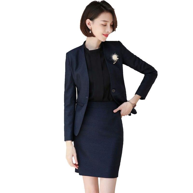 Female elegant women's tops and blouses jacket pant suits office ladies sets blazer set pants suits woman work wear 2 pieces