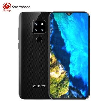Cubot P30 Android 9.0 6.3Inch 4GB 64GB MT6763 Octa-Core Smartphone 4000mAh 1080*2340 4Camera 12.0MP+20.OMP+8.0MP 4G Telephone