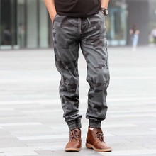 Camouflage Pants Man Casual Trousers Military Style Joggers Army Cotton