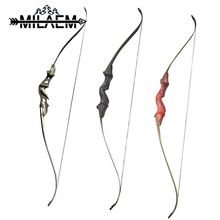 58 inch/60 inch Recurve Bow Right/Left Hand Hunting Takedown Bow 55/60 lbs Powerful Set for Outdoor Hunting Archery Accessories 60 inches recurve bow hybrid bow 30 70 lbs in black camo for right hand user archery bow shooting hunting