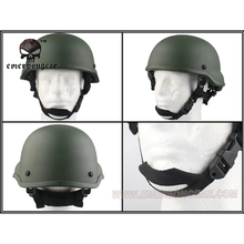 emersongear Emerson Tactical Helmet ACH MICH 2002 TC2002 Combat Protective Duty Headwear ABS Airsoft Multi-Colors