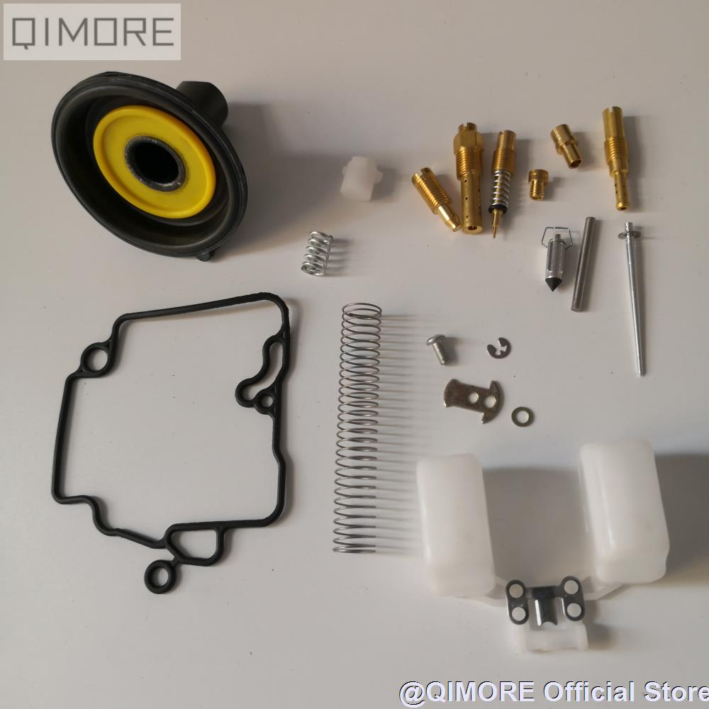 PD18J PD19J <font><b>Carburetor</b></font> Rebuild Kit / Repair Kit / Diaphragm membrane Set (16mm) for Scooter Moped 139QMB 147QMD GY6 50 60 <font><b>80cc</b></font> image