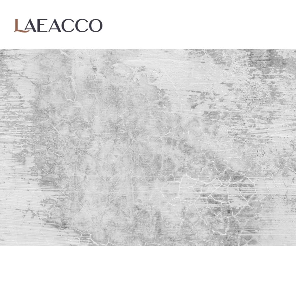 Laeacco серый цементный стеновой градиент сплошной Цвет поверхности бесшовный фон Фото фоны для фотографий задний фон для фото студии