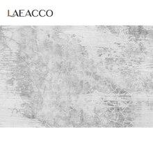 Laeacco gris ciment mur dégradé couleur unie Surface Texture alimentaire Portrait arrière plans Photo arrière plan photographique Photo Studio