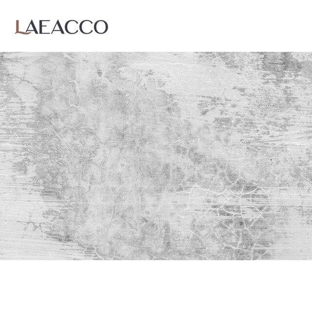 Laeacco muro de cemento gris gradiente de Color sólido textura de la superficie de la comida retrato foto fondos de fondo fotográfico estudio fotográfico