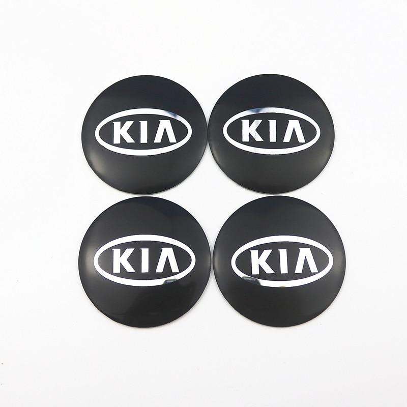 Autocollants décoratifs de moyeu de Center de roue de voiture pour KIA K2 K3 K5 k9 Sorento Sportage R Rio Soul accessoires Auto