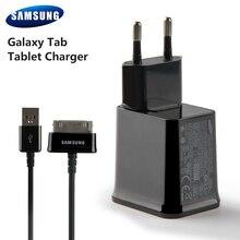 цена на Samsung Original Tablet Wall Charger For Samsung Galaxy Tab P7500 P7300 P7310 Galaxy Note 10.1 N8000 P3100 Tab 7.0 Plus P6200