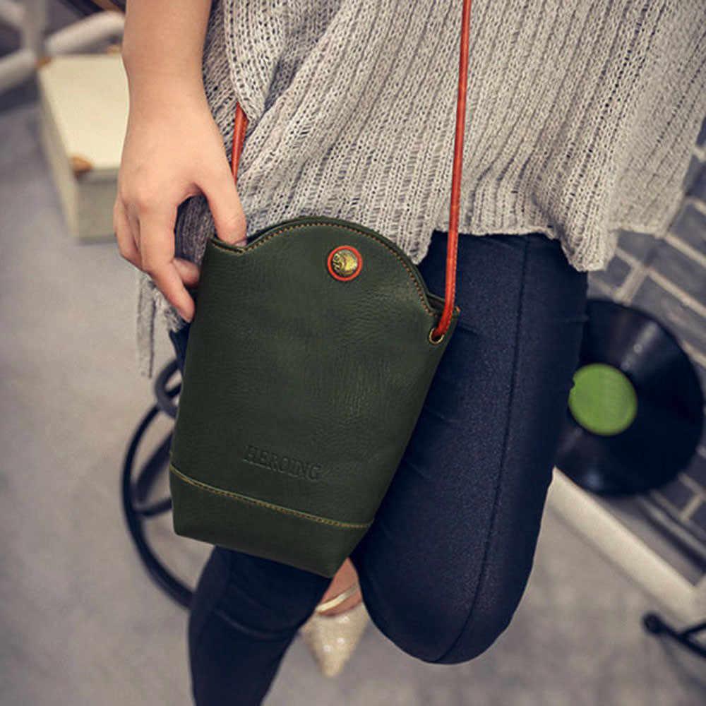 Wanita Round Bucket Bag 2019 New Designer Tas Tangan Kulit PU Berkualitas Wanita Messenger Tas Bahu Cross Tubuh Tas #1217