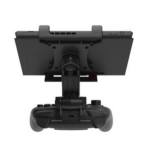 Image 2 - Nintend Schalter Konsole NS Lite Mini Smart Clip Clamp Halter Stand Halterung Spiel Unterstützung Für Nintendo Schalter Pro Controller