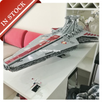 Star Series Wars Venator class Republic Attack Cruiser 05077 81067 In Stock Building Block 6125Pcs Bricks Toys Gifts Moive Ship