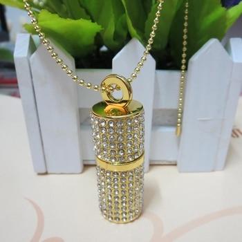 Fashion Crystal Mini USB Flash Drive 1TB 2TB Pen Drive 128GB 16GB 32GB Jewelry Memory Stick Special Gifts Cle Usb Creativo 3.0
