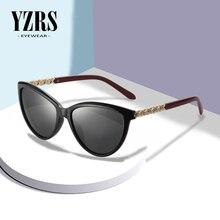 YZRS Brand Cat Eye Sunglasses Women Fashion Shades Polarized Sun Glasses For Summer Eyewear