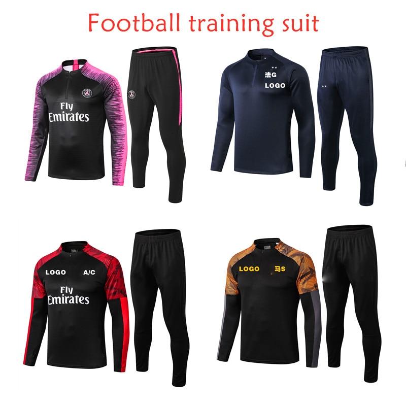 Soccer Jersey Set Men Adult Football Uniforms Futbol Training Suit Sport Shirt Men Running Fitness Shirts Gym Sportswear