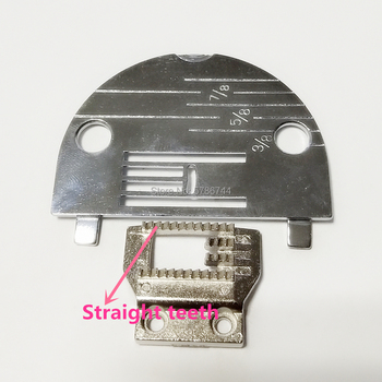 Needle plate #NZ-5LG Feed dog #Z14157 for Brother 1243,1283,Homemaker 2345-TW,Nelco R-1000,Western W-50-1,400,480,490 etc image