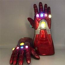 Action-Figure Cosplay-Prop Gloves War-Light 4-Gauntlet Halloween 1:1 Gift LED Children