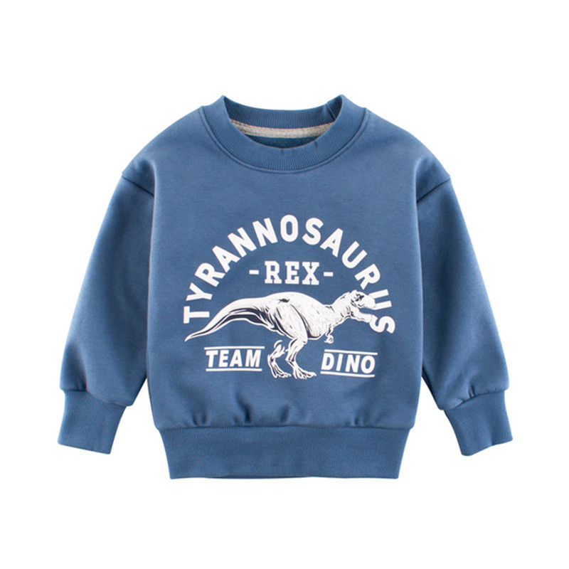 Clothing Hoodies Sweatshirts Dinosaur Baby-Boys Kids Children's Casual Print Letter CANIS