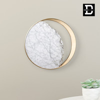 Creative Design Luxury Marble LED Wall Lamp for Bedroom/Foyer/Kitchen Bathroom Mirror Light Home Light Wall Scone Light Fixture