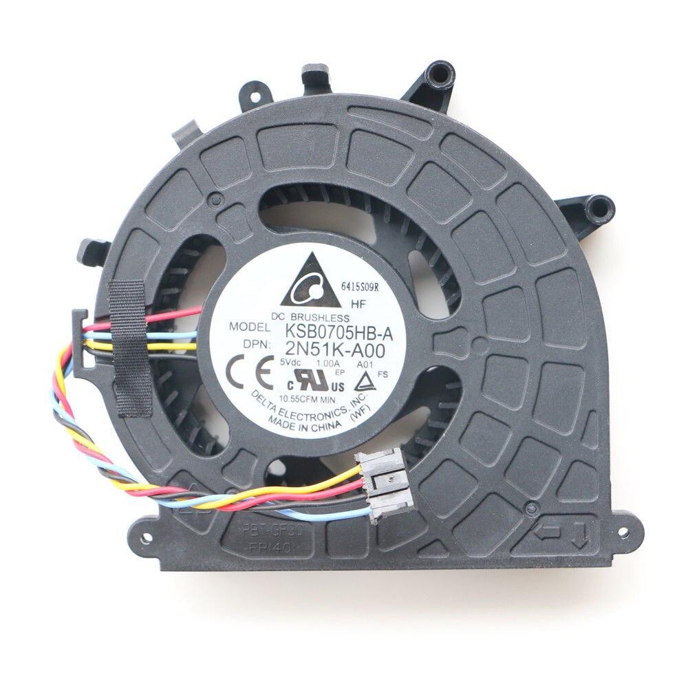 Novo micro ventilador de mesa para dell optiplex 3020 3020m 9020 9020m 3040 micro sistema desktop ventilador refrigeração CN-02N51K