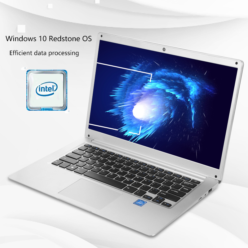 Image 3 - 14.1 Inch Laptop 2GB RAM 32GB Student Notebook Intel Atom X5 Z8350 Quad Core Windows 10  Notebook BT4.0 with HDMI Port-in Laptops from Computer & Office