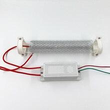 220 فولت 240 فولت 15 جرام 20 جرام مولد أوزون أنبوب أوزون لتقوم بها بنفسك لتنقية الهواء مع امدادات الطاقة