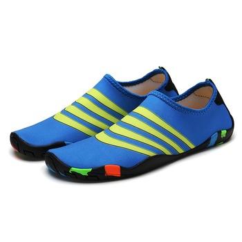 2019 mężczyźni kobieta plaża letnie odkryte buty wędkarskie rodzic-dziecko fitness patch buty buty do wody antypoślizgowe buty do pływania rozmiar 28-47 tanie i dobre opinie LUCYLEYTE CN (pochodzenie) WOMEN Pasuje prawda na wymiar weź swój normalny rozmiar Spring2018 Slip-on Zaawansowane Szybkoschnący