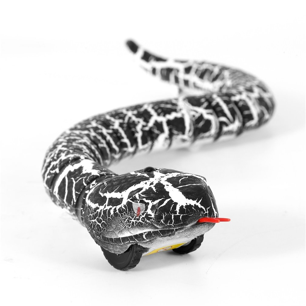 OCDAY RC Snake And Egg Emote Control Rattlesnake Animal Trick Terrifying Mischief Toys For Children Funny Novelty Gift New Hot