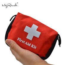 Mini bolsa de supervivencia de emergencia portátil, Kit de primeros auxilios familiar, kits de viaje deportivos, maletín médico para el hogar, bolsa de primeros auxilios para coche al aire libre