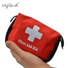 Mini portátil bonito emergência sobrevivência saco família kit de primeiros socorros esporte kits viagem em casa saco médico ao ar livre carro primeiros socorros saco