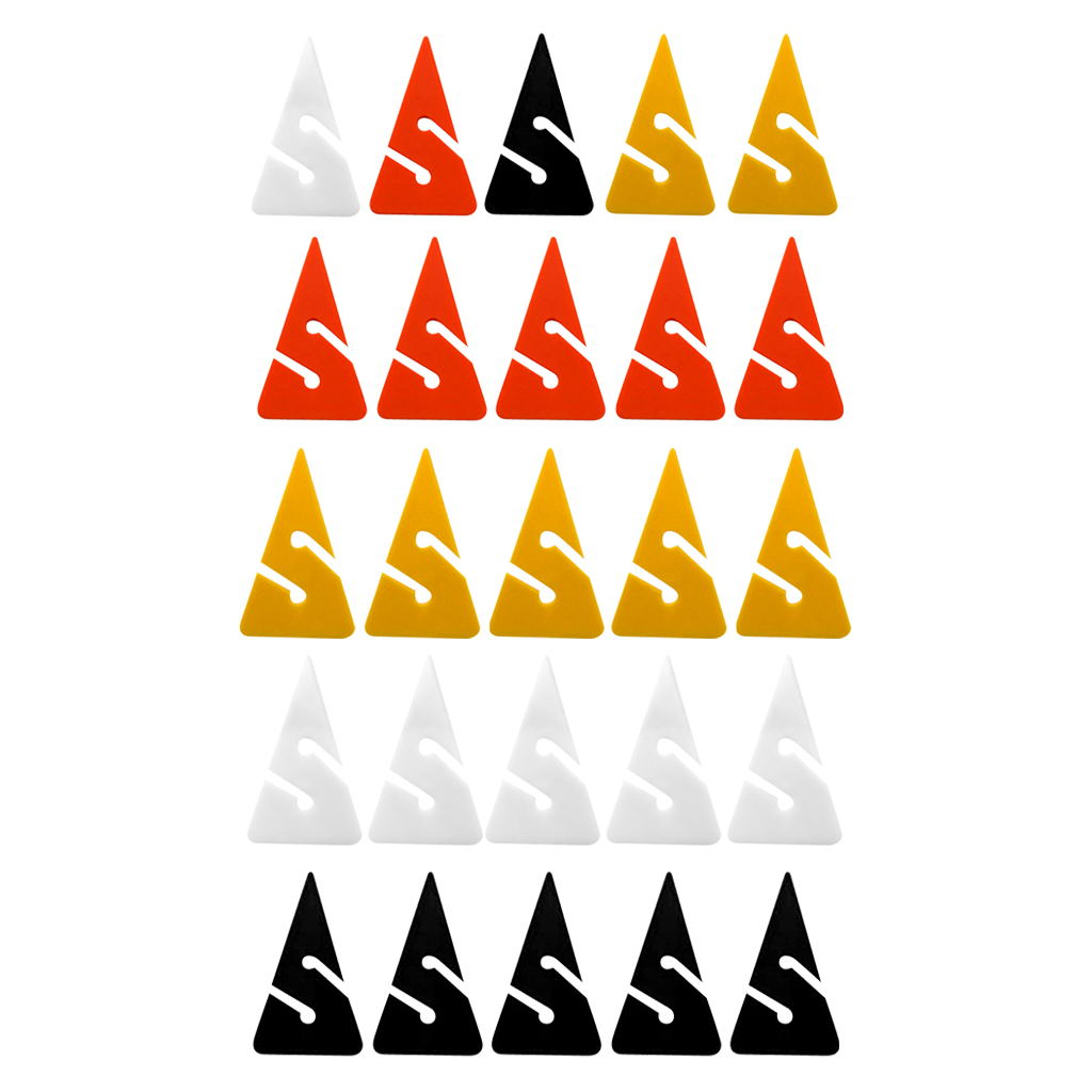 5Pcs Triangle Scuba Diving Line Arrow Markers Technical Scuba Diving Directional Line Arrow Marker For Cave And Wreck Diving