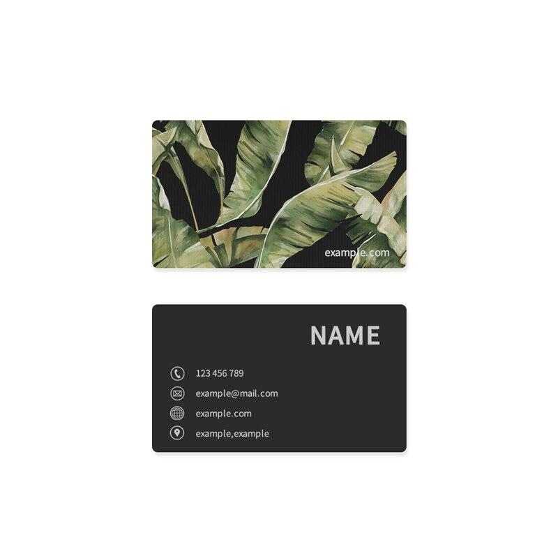 100 шт./200 шт./500 шт./1000 шт./лот визиток индивидуальные наклейки бумажная карта VIP Бесплатная доставка